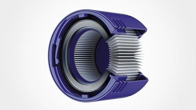 Graphic of inner workings of Dyson V8 battery